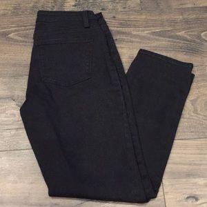 0P Talbots Black slim ankle jeans